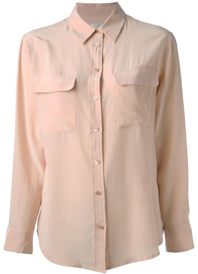 Equipment 'Signature' blouse