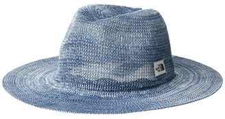 The North Face Packable Panama Hat (Angel Falls Blue Marl) Bucket Caps
