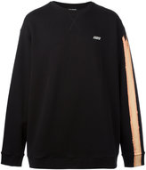 Raf Simons stripe print sweatshirt - men - Cotton - S