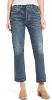 Citizens of Humanity Women's Gia Crop Straight Leg Jeans