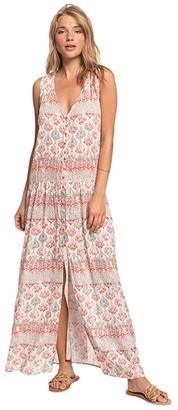 Roxy Feel Like Summer (Snow White/Ginger Night) Women's Dress