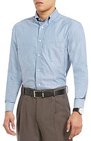 Daniel Cremieux Signature Tri-Color Oxford Long-Sleeve Woven Shirt