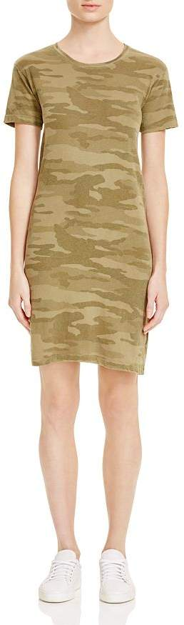 Current/Elliott Camo Tee Dress