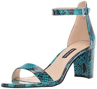 Nine West Womens Pruce Block Heeled Sandal 6 M