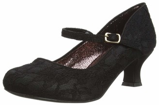 Joe Browns Women's Perfectly Pretty Vintage Lace Shoes Mary Jane Flat
