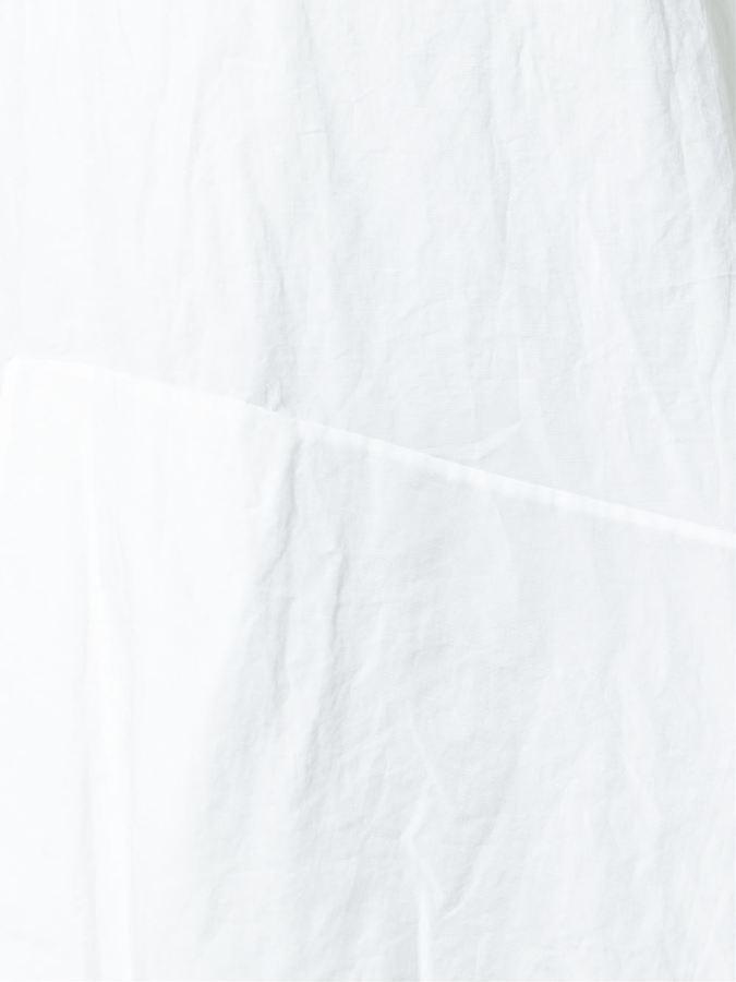 Ports 1961 asymmetric shoulder tie-straps dress