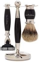 Truefitt & Hill Faux Ebony Trim Badger Edwardian Shaving Set