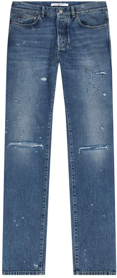 Givenchy Destroyed Slim Fit Jeans