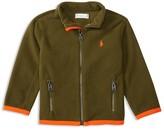 Ralph Lauren Infant Boys' Micro Fleece Jacket - Sizes 3-24 Months