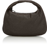 Bottega Veneta Women's Intrecciato Large Hobo-Dark Brown