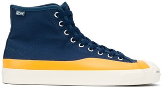 Converse x Pop Trading high-top sneakers