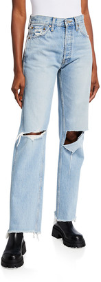 RE/DONE 90s High-Rise Loose Straight Jeans