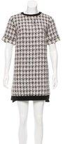 Giamba Tweed Mini Dress w/ Tags