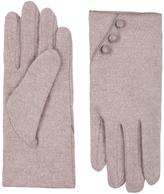Accessorize Wool with Button Detail Gloves