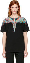 Marcelo Burlon County of Milan Black Silus T-Shirt