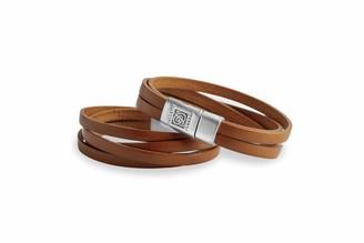 Dallaiti Design Unisex Silver Plated Identification Bracelet - BC145/15/M