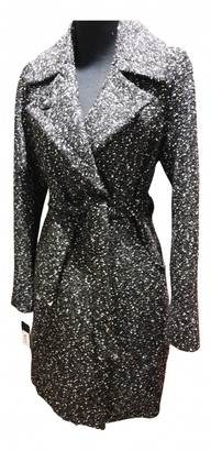 GUESS Black Tweed Coats