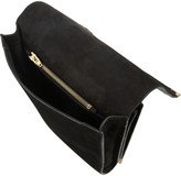 Alexander Wang Prisma embossed leather and suede shoulder bag