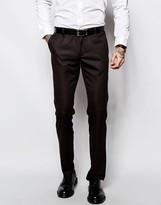 Sisley Suit Trousers In Slim Fit