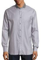 Brioni Heathered Cotton Shirt