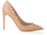 Valentino Rockstud point-toe pumps