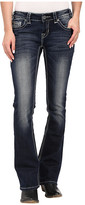 Rock and Roll Cowgirl Rival Bootcut in Dark Vintage W6-6422