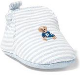 Ralph Lauren Boy Percie Striped Slip-On Shoe