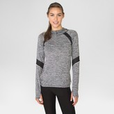 Women's Space Dyed Hoodie with Mesh Black Combo- RBX