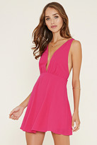 Forever 21 Plunging Mini Dress