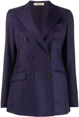 Massimo Alba Fitted Double-Breasted Blazer