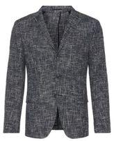 Hugo Boss T-Hevan Slim Fit, Italian Cotton Sport Coat 38R Open Blue
