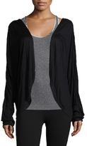 Electric Yoga Solid Open Cardigan