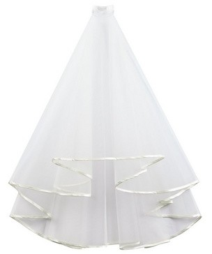 Dorothy Perkins Womens Showcase White Bridal Veil, White