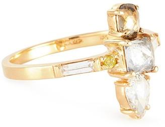 Xiao Wang Galaxy' diamond 18K gold ring
