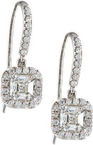 Diana M. Jewels 18k Asscher-Cut Diamond Drop Earrings, 1.07tcw