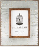 """Shiraleah Riveted 4"""" x 6"""" Picture Frame"""