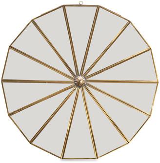 Nkuku Kiko Decorative Mirror - Antique Brass