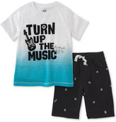 Kids Headquarters 2-Pc. Cotton Music T-Shirt & Shorts Set, Baby Boys (0-24 Months)