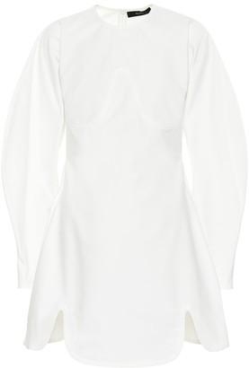 Ellery Teeny Voluminous Sleeve cotton dress