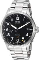 Oris Men's 74877104164MB Big Crown Analog Display Swiss Automatic Silver Watch