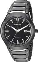 Citizen Men's 'Dress' Quartz Stainless Steel Casual Watch, Color:Two Tone (Model: AW1558-58E)