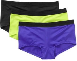 Hanes Women's Performance Cool Boyshort Panties - 3 pack