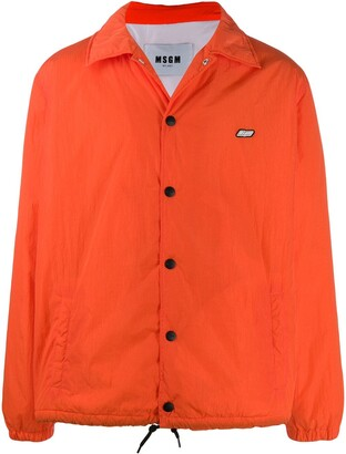 MSGM Overshirt Patch Jacket