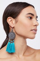 Free People Winona Embellished Tassel Earrings