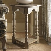 Lexington Twilight Bay 3 Legs End Table with Storage Color: Distressed Textured Soft Taupe Gray