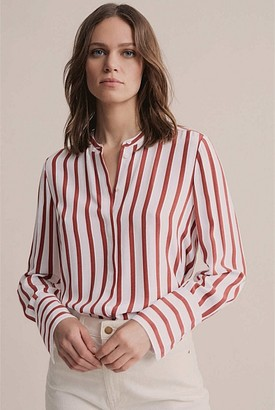 Witchery Striped Button Shirt