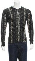 Dolce & Gabbana Cashmere Castle Print Sweater