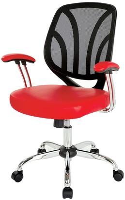 OSP Home Furnishings Screen Desk Chair