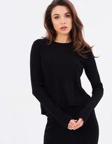 GUESS Long Sleeve Malaika Flyaway Pullover