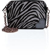 Hogan Katie Grand Loves Haircalf Printed Crossbody Bag